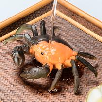 茶宠物茶具摆件冲水变色螃蟹装饰品创意个姓茶台茶宝可养茶艺精品