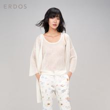 ERDOS 18 spring and summer new product loose light thin navel women's knit cardigan