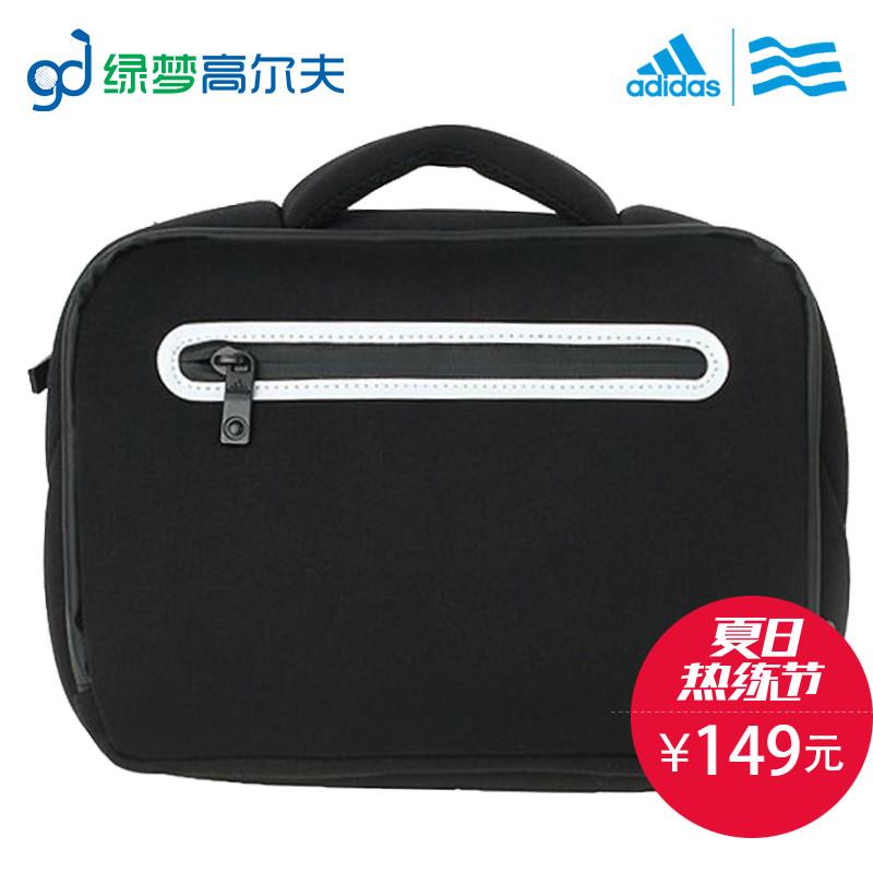 ADIDAS adidas гольф движение сумочку компьютер пакет подходит для мужчин и женщин мода практический