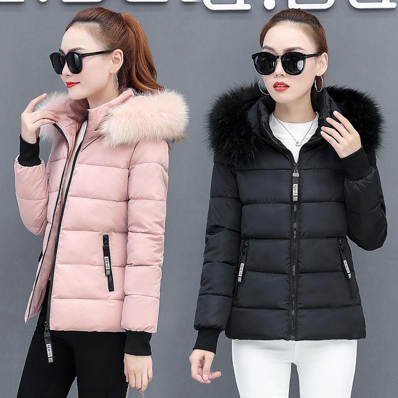 棉衣女装短款棉服2019冬季新款短装面包服保暖羽绒棉袄加厚外套潮