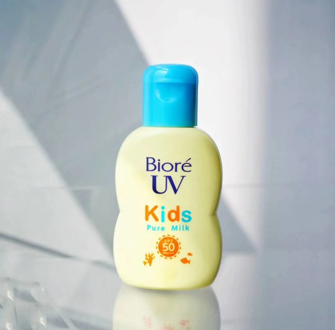 Japanese BIORE Biore baby student sunscreen, mild physical sunscreen lotion, child pregnant woman anti ultraviolet