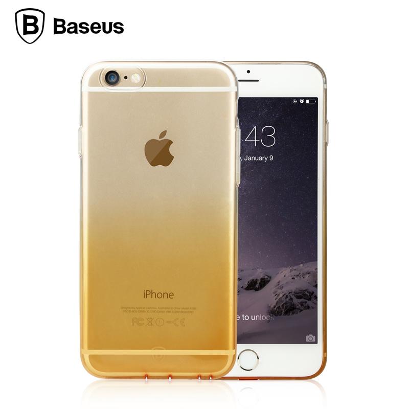 倍思蘋果6手機殼4.7 iphone6手機套i6超薄矽膠透明簡約6s防摔軟膠
