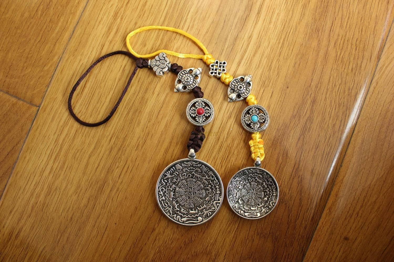 尼泊尔西藏饰品民族藏族手工做复古腰牌项坠吊坠挂件裤子饰品包邮