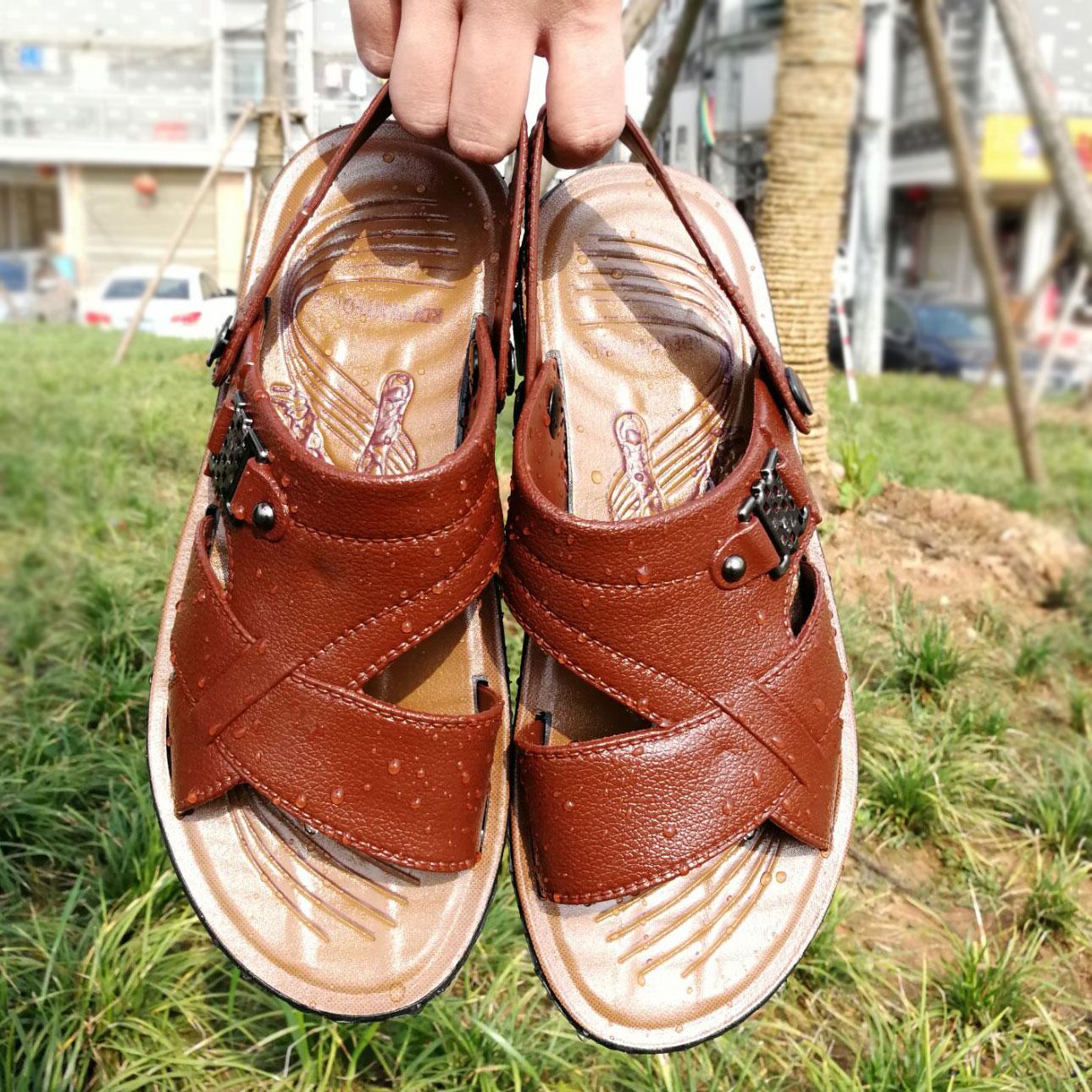 夏季男士凉鞋两用休闲鞋透气沙滩鞋防滑夏天凉拖鞋8