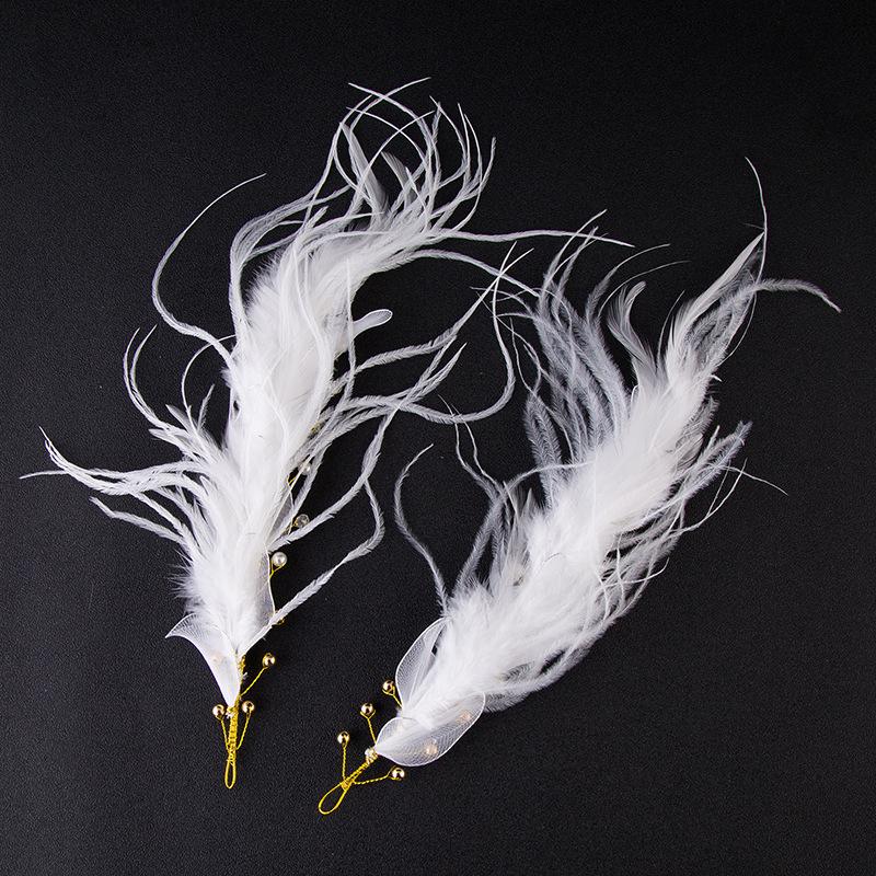 新款热销手工金色叶子花朵头饰 婚纱礼服配饰头带 新娘饰品