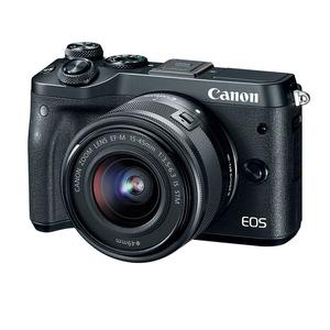 领30元券购买canon /佳能eos m6套机二手单电