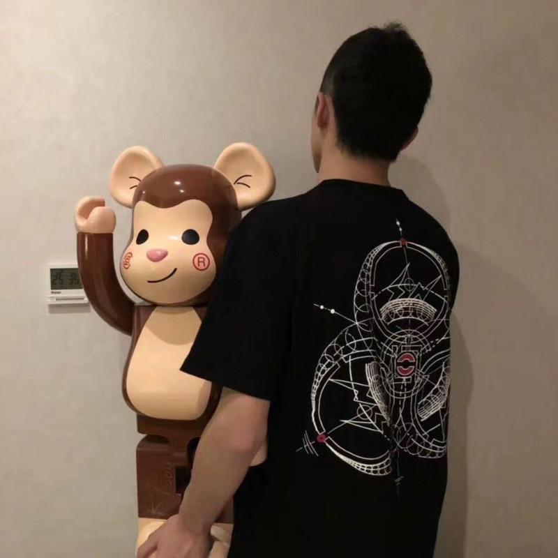 Clot X Fragment X Innersect潮牌三方联名展会限定陈冠希短袖T恤
