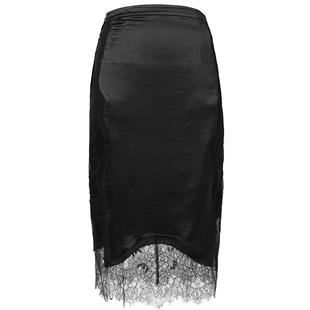 秘密盒子 魅惑氣質 2019新款性感氣質重工蕾絲拼接包臀裙一步裙