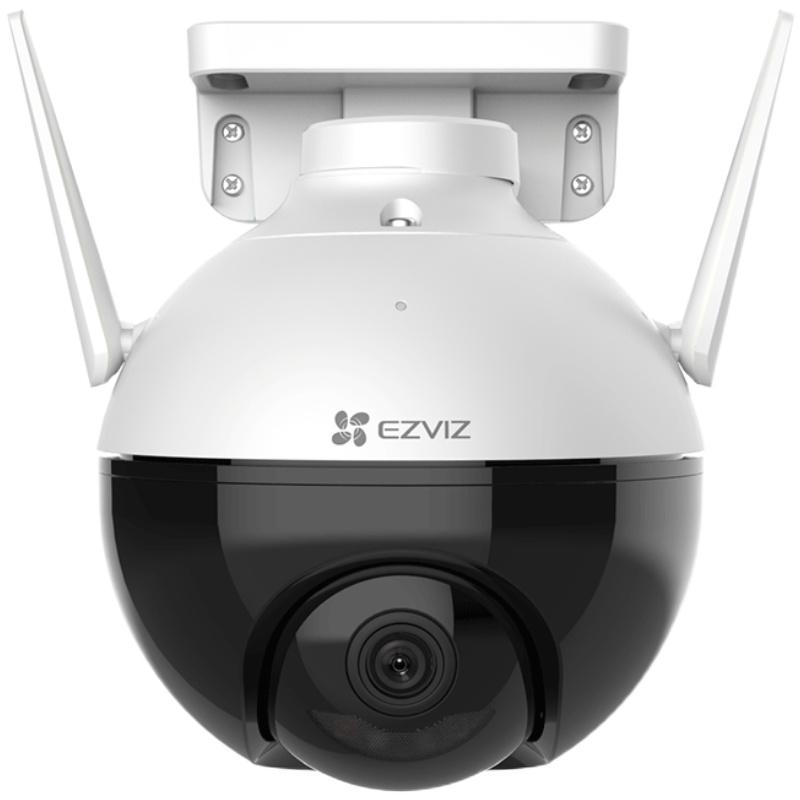萤石云c8c室外360度全景摄像头质量靠谱吗