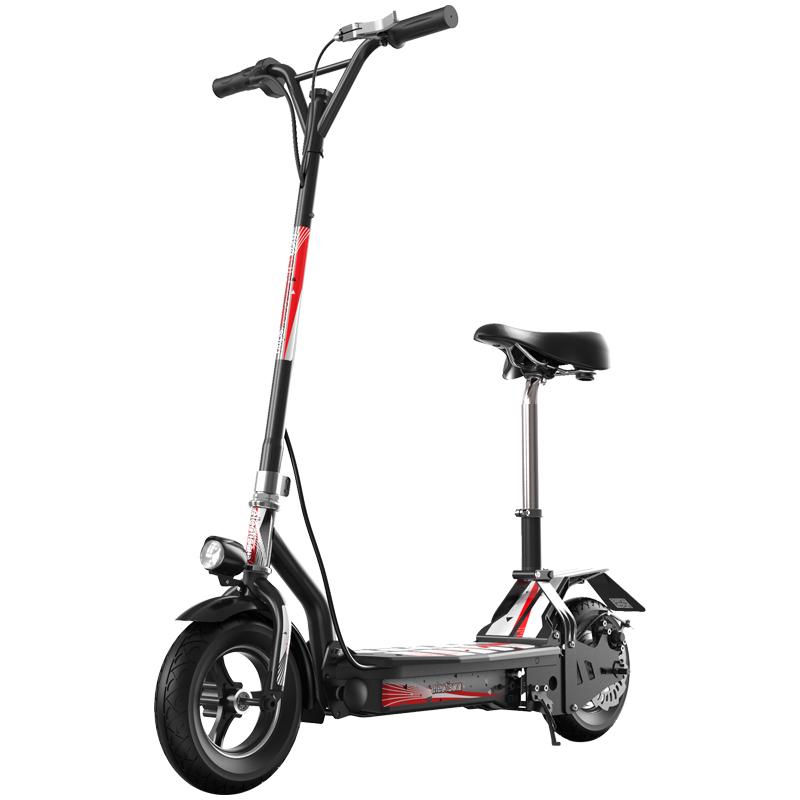 okai电动滑板车折叠坐骑上班电动车