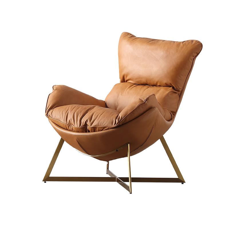 汉哲北欧单人设计师单人椅懒人椅用后评测