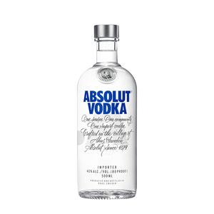 【进口】absolut绝对伏特加原味烈酒
