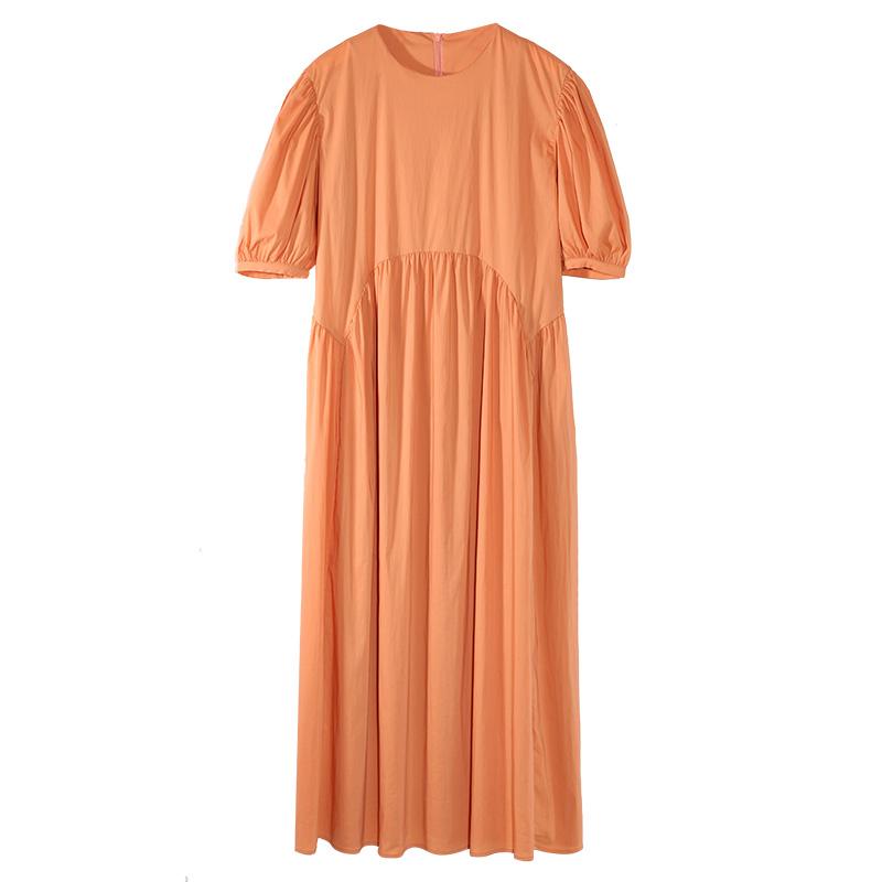 孕妇夏季短袖法式宽松2021连衣裙好不好