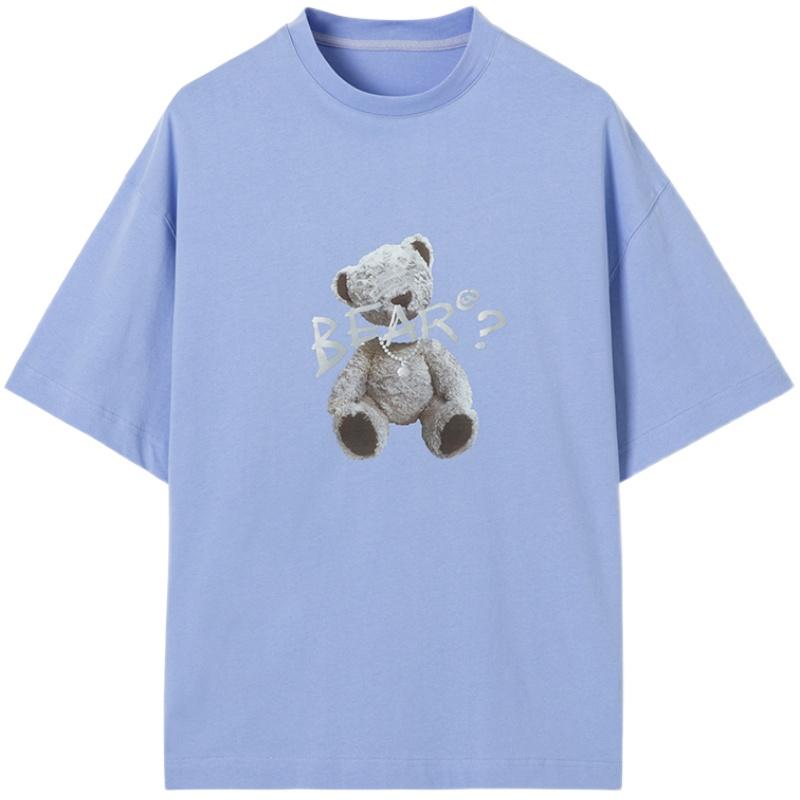 lilbear小熊情侣镭射反光新款t恤怎么样