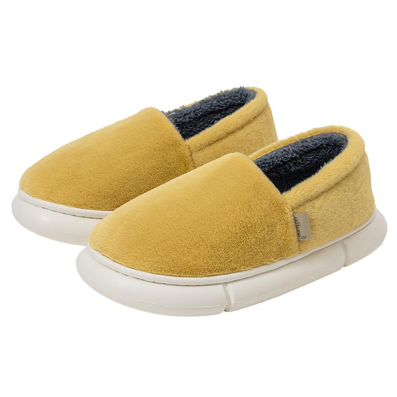 优调厚底保暖包跟加绒345棉拖鞋好用吗