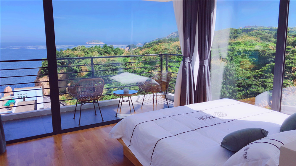 Gouqi island forest house with sea view