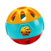 澳贝宝宝学爬响铃早教球 手抓球摇铃玩具益智男孩女孩婴儿礼物