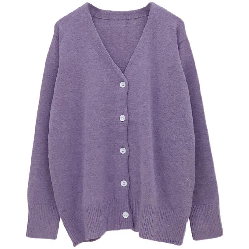 2021春装新款很仙的外套韩版风毛衣价格多少好不好用