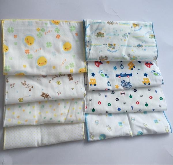 纯棉纱布薄款不规则小手帕擦汗巾垫下巴巾按颜色购买大小不一