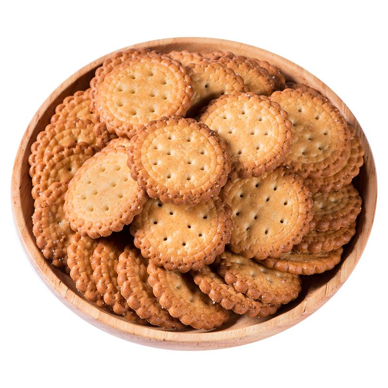 网红日式小圆日本多口味海盐饼干