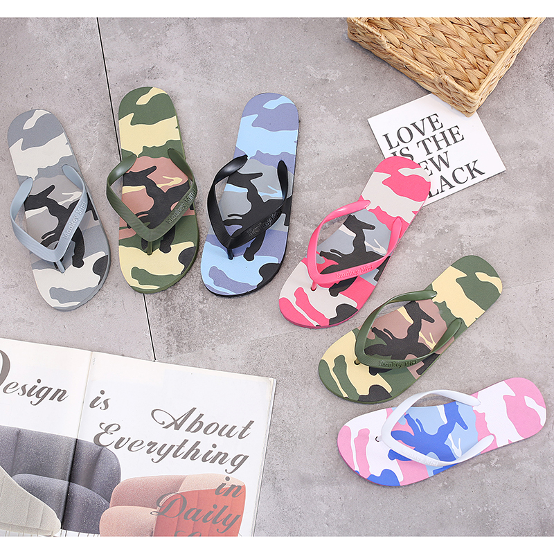 New camouflage mens herringbone sandals in summer of 2019