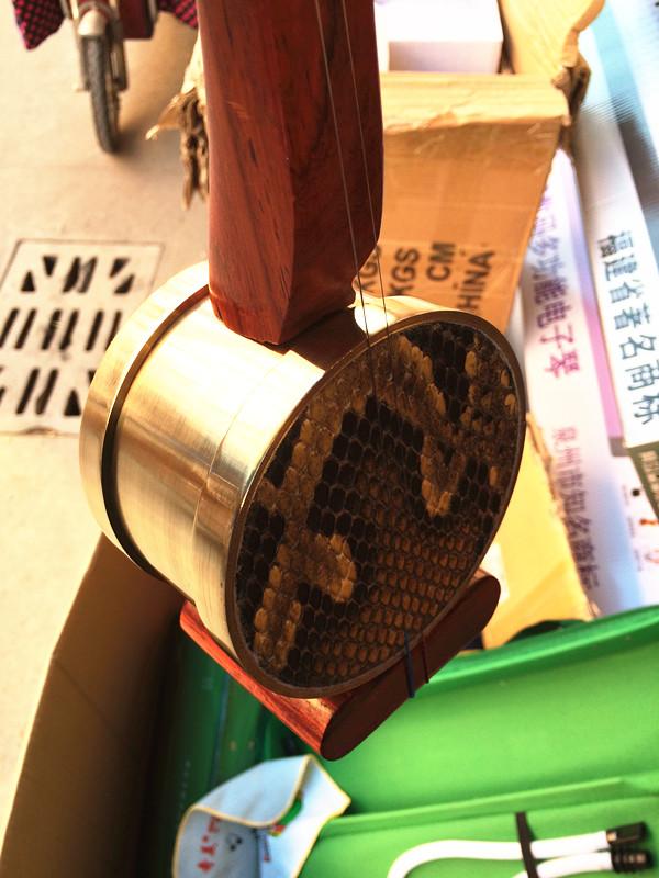 Специальность красный Wood Hammer Falling Hu Factory Outlet Музыкальный инструмент Профессиональный игровой уровень Hu