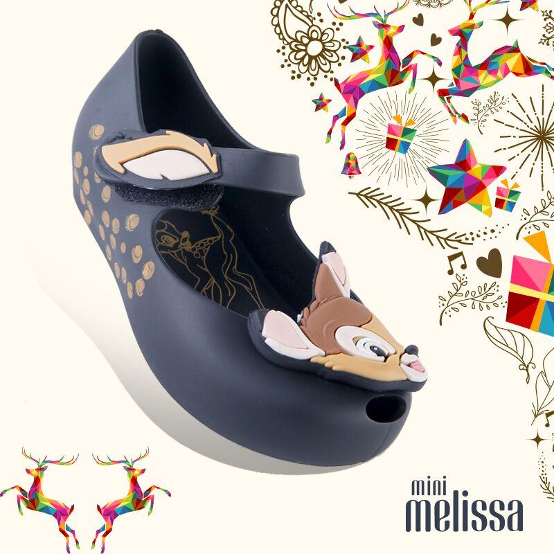 2017新款正品巴西 梅丽莎 童鞋 小鹿凉鞋 melissa果冻鞋 儿童