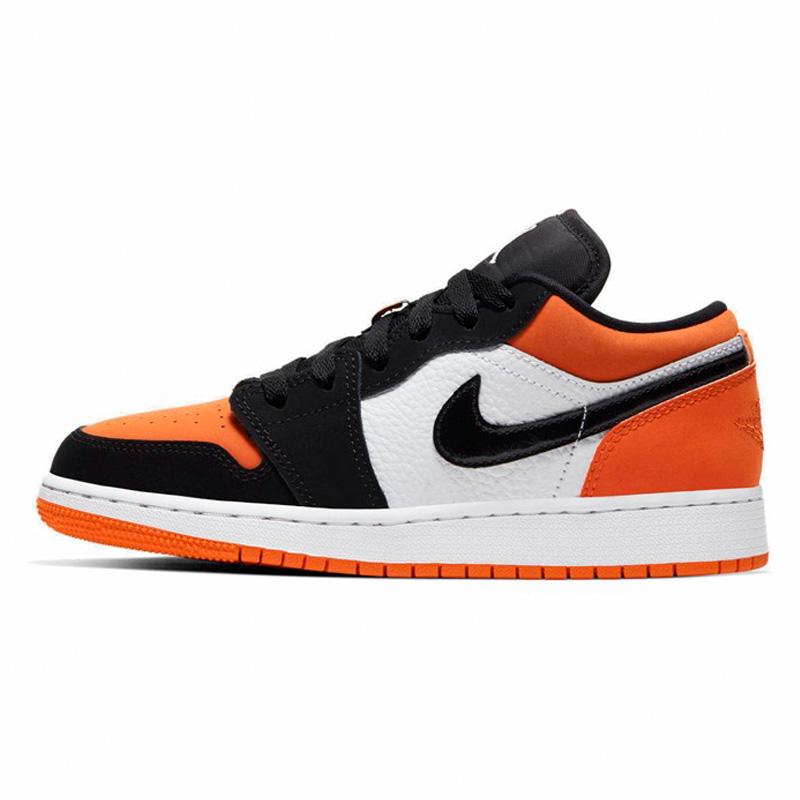 耐克女鞋正品Air Jordan 1 Low AJ1低帮扣碎休闲鞋板鞋553560-128