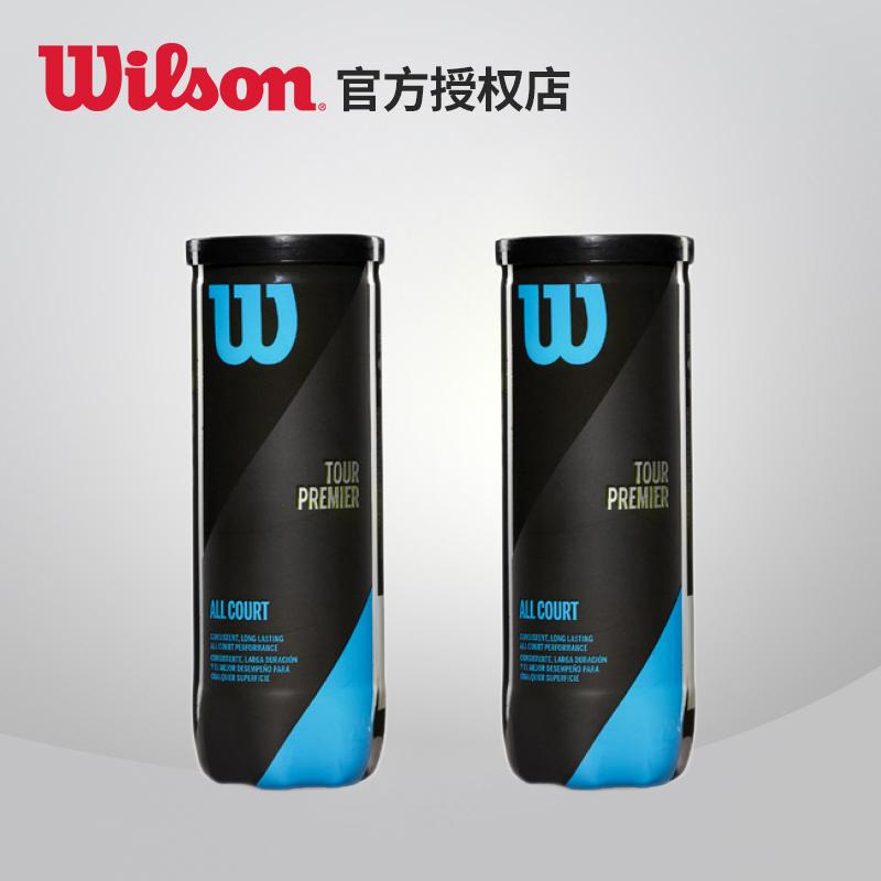 wilson威尔胜筒装练习网球训练比赛练习专业用20新款罐装训练网球