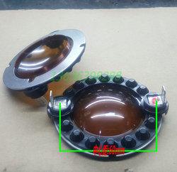 百变龙 44.4焊片架音膜 喇叭 高音膜 44.4mm 扁线咖啡色音膜