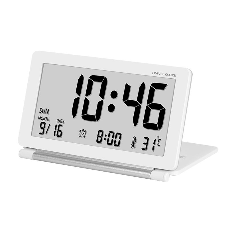 39.00元包邮超薄旅行创意闹钟可爱简约led钟