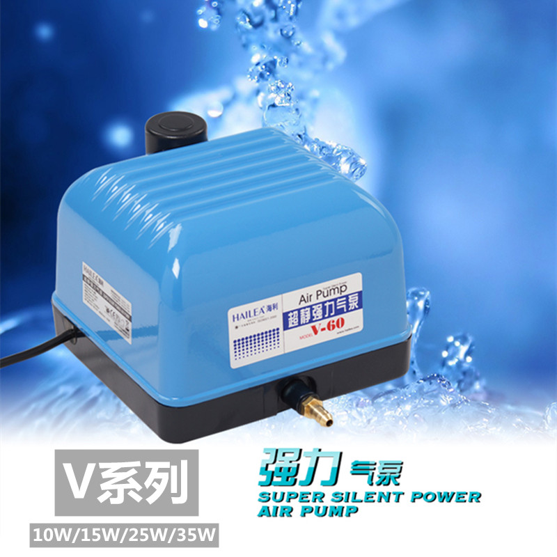 海利酸素ポンプV 10 V 20 V 30 V 60静音コイの水槽からの酸素ポンプの水槽までの大気量の空気ポンプ