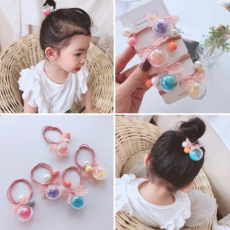 3.80元包邮韩国版儿童小女孩可爱女童头饰皮筋