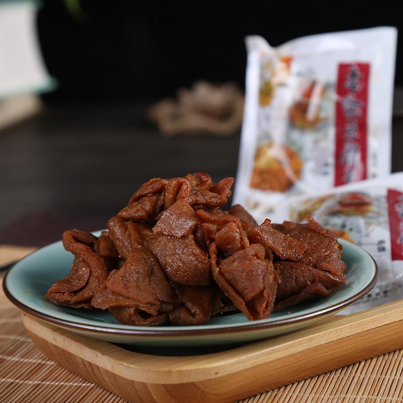 老爸豆腐干温州特产小吃卤豆干豆汁品素食豆皮浙江休闲办公室零食