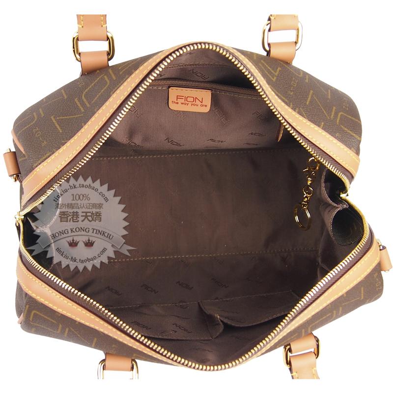 Fion Hong Kong Crown Purchasing Ing Classic Vat Bag Hand Messenger Handbag Fif