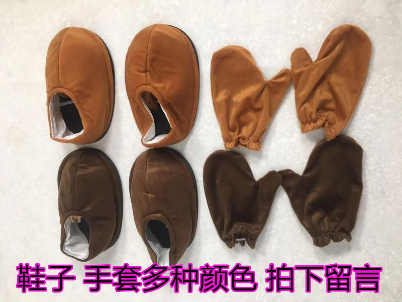 Net red bear accessories shoes gloves cartoon puppet props custom line out of clothing Cosplay men and women
