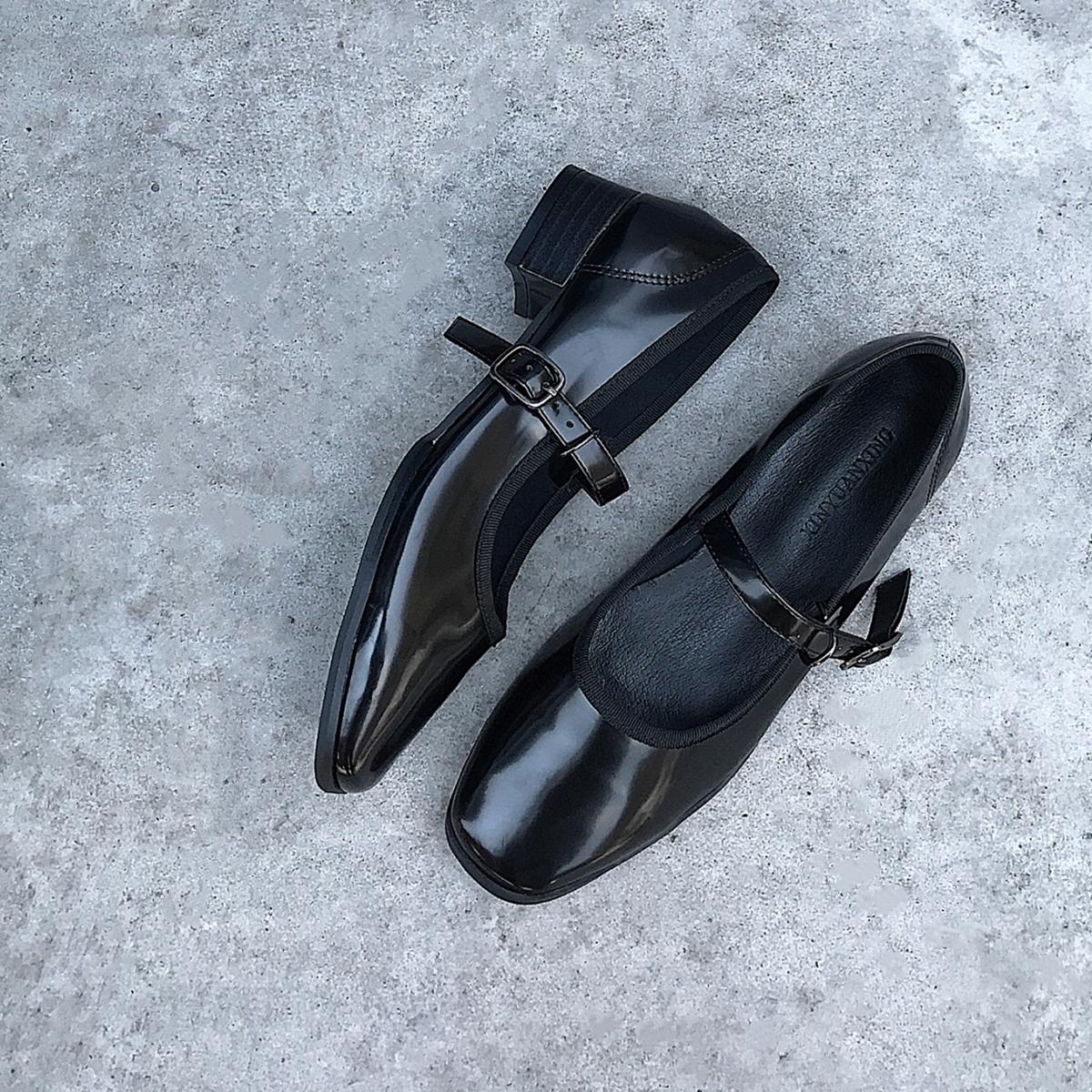 阿q哥家复古芭蕾软软玛丽珍单鞋12月02日最新优惠