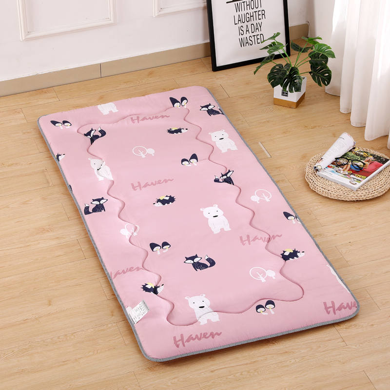 Thickened student dormitory mattress tatami childrens single double bed mattress upper and lower floor mattress foldable