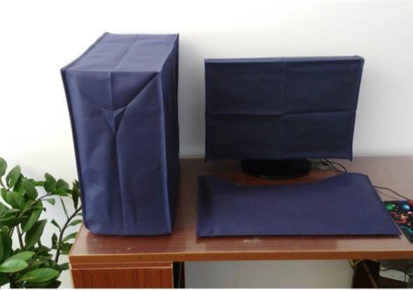 Рабочий стол компьютер крышка пылезащитный чехол крышка 19-27 дюймовый главная эвм клавиатура жк дисплей устройство крышка обложка тканевая пылезащитный чехол