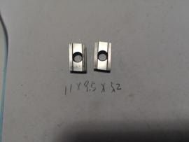 二手进口陶瓷刀具日立  ADNT160308SR CH550倒角钻机夹数控刀片图片