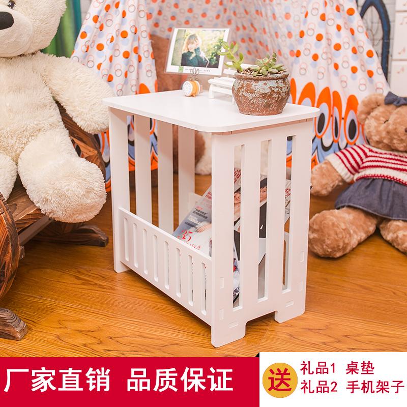 Континентальный кофейный столик простой небольшой квартира кофейный столик маленькие круглые стол сторона кофе стол гостиная маленький квадрат стол журнал стол тумбочка