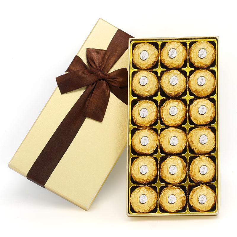 费列罗巧克力礼盒装送女友朋友正品费力罗生日女神零食情人节礼物