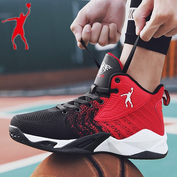 Jordan Glenn mens shoes new junior high school students basketball shoes in spring 2019 youth sports shoes