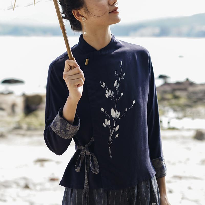 中式女装改良中国风唐装复古短衬衫券后298.00元