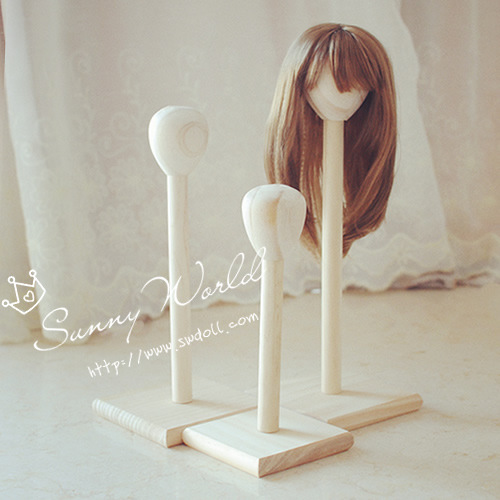[baby bottle family favorite new product] BJD baby products furniture accessories wig bracket head frame 4 points / 6 points