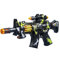 Kids Electric toy Gun boy voice light music shake Baby kid charge Rob 2-3-4-5-6 years old