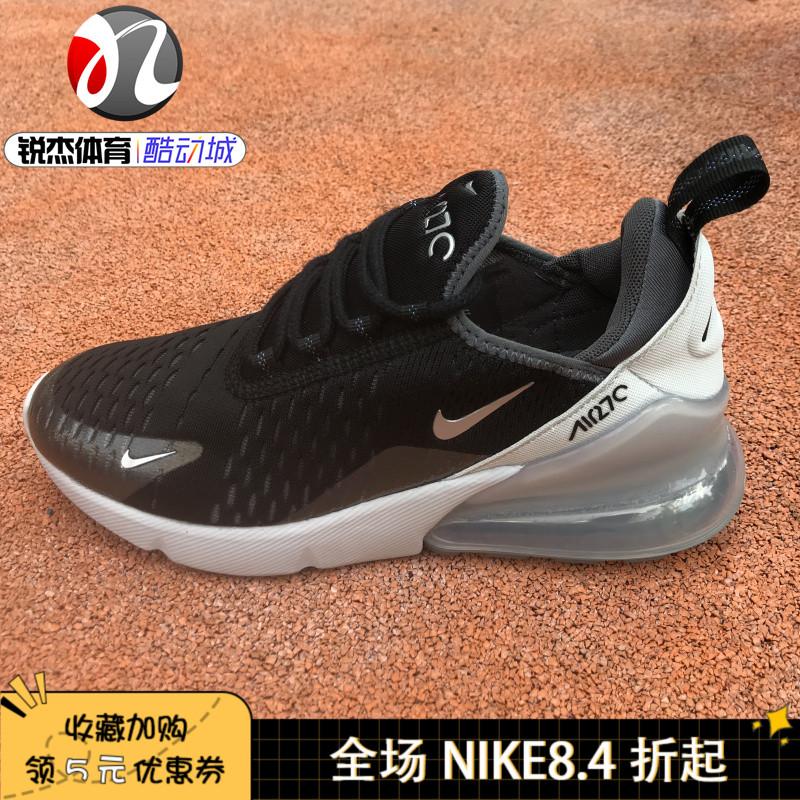 限时2件3折耐克Nike AIR MAX 270女子新款运动休闲大气垫跑步鞋BQ9240-0