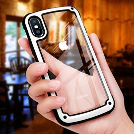 抖音网红同款苹果8PLUS手机壳透明iphone XS Max iphoneXR军工6S全包防摔7p男女情侣iphonex手机套x八6气囊8x图片