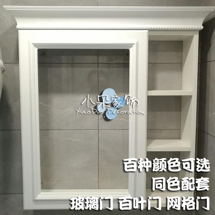 橱柜门定制橱柜门定做烤漆门板模压门吸塑门板鞋柜玻璃网格百叶门