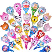 儿童卡通手持棒气球生日装饰玩具微商地推活动小礼品铝膜气球包邮